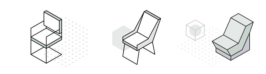Krzesła konferencyjne, hokery