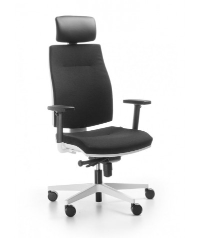 Fotel biurowy Corr White