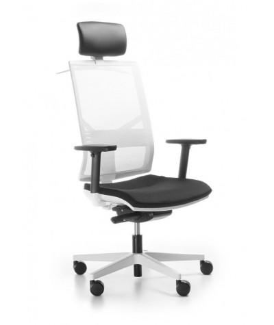 Fotel biurowy Eleven White
