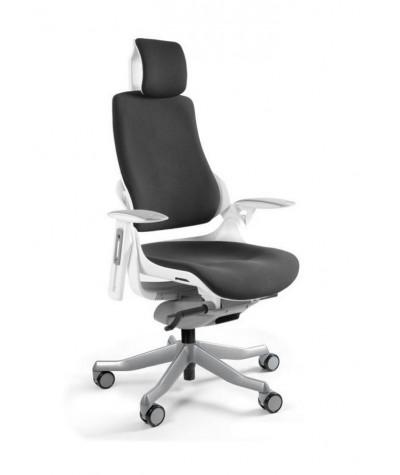 Fotel biurowy Wau Biała...